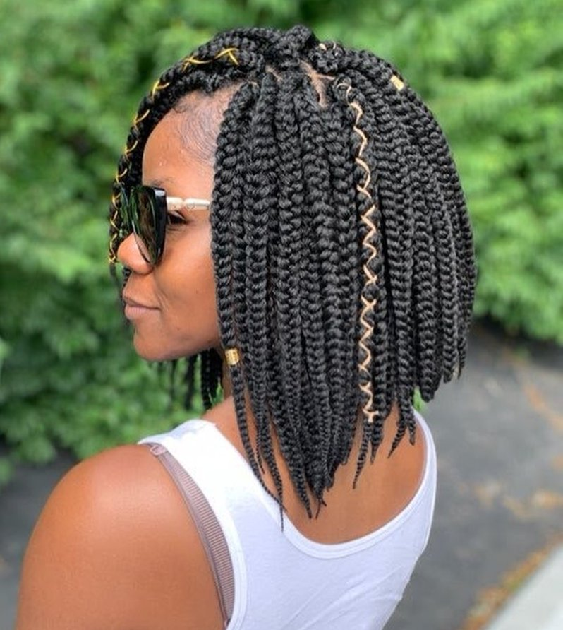 Easy Bob Braids for Short Hair
