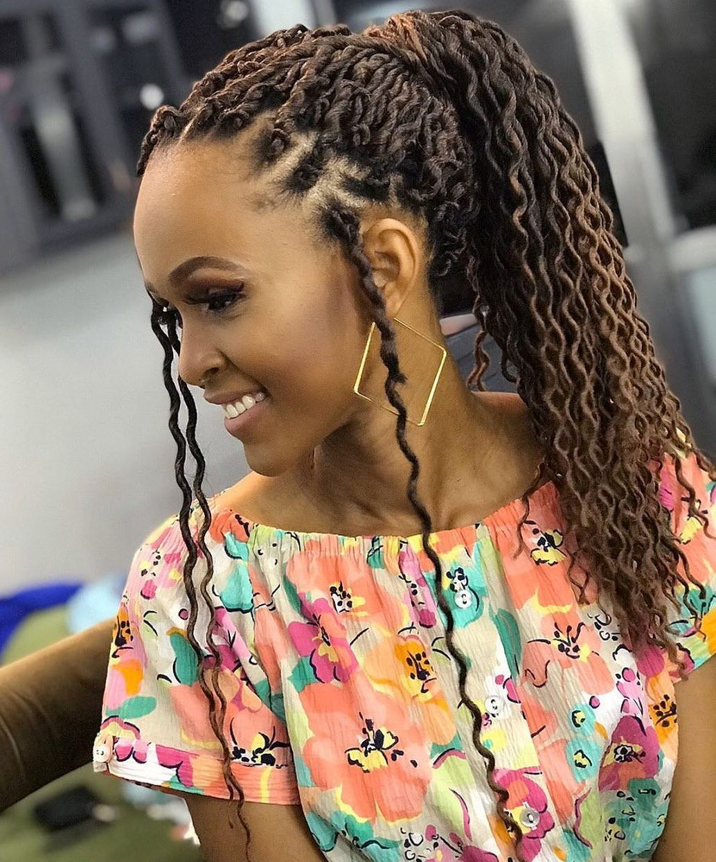 Long Wavy Crochet Hair
