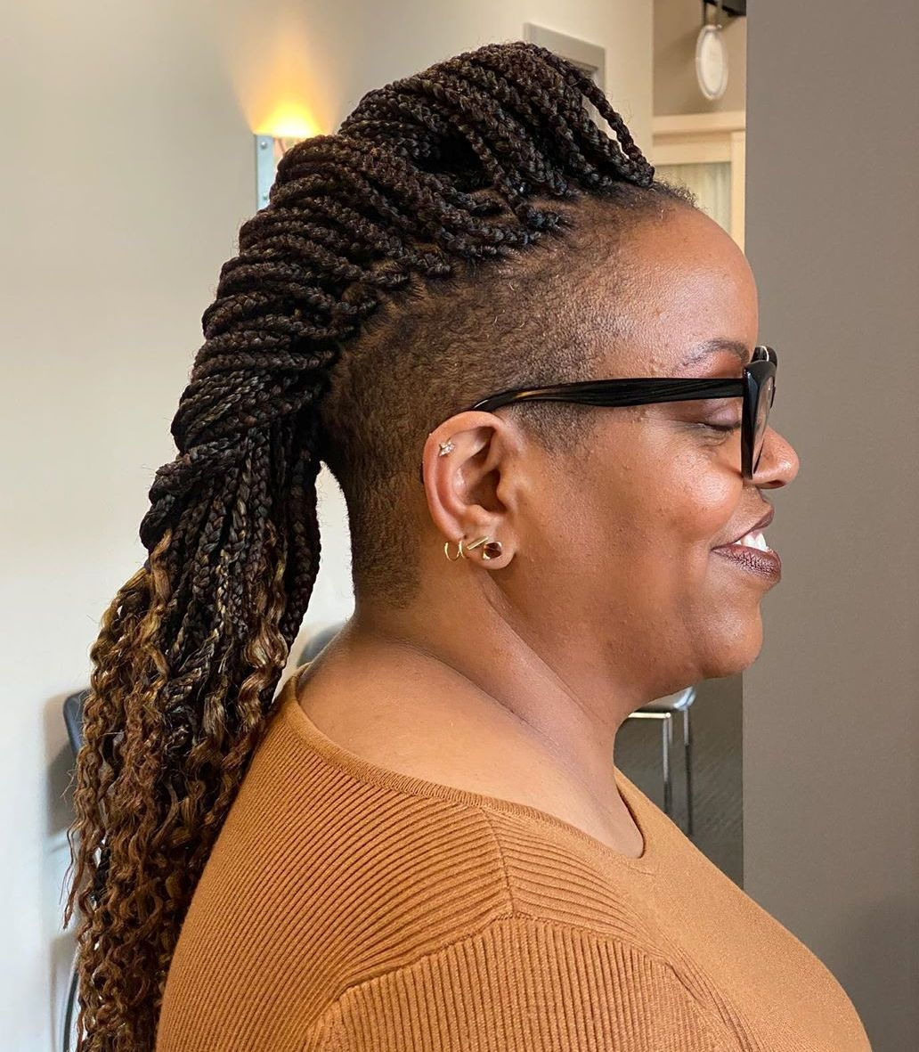 Mohawk Braids for Black Women