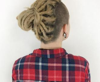 Undercut Hair Locks for White Girls