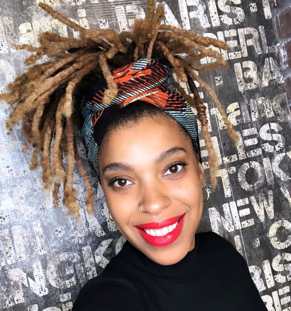 Cute Updo for Girls with Dreads