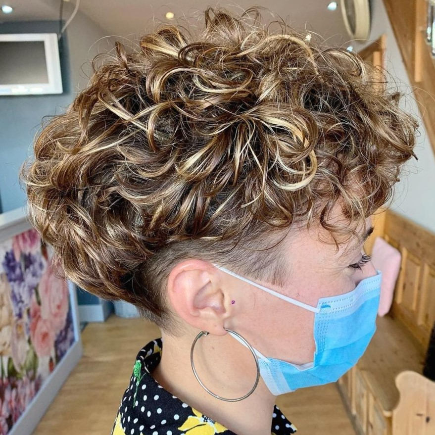 Extra Short Thick Curly Hair