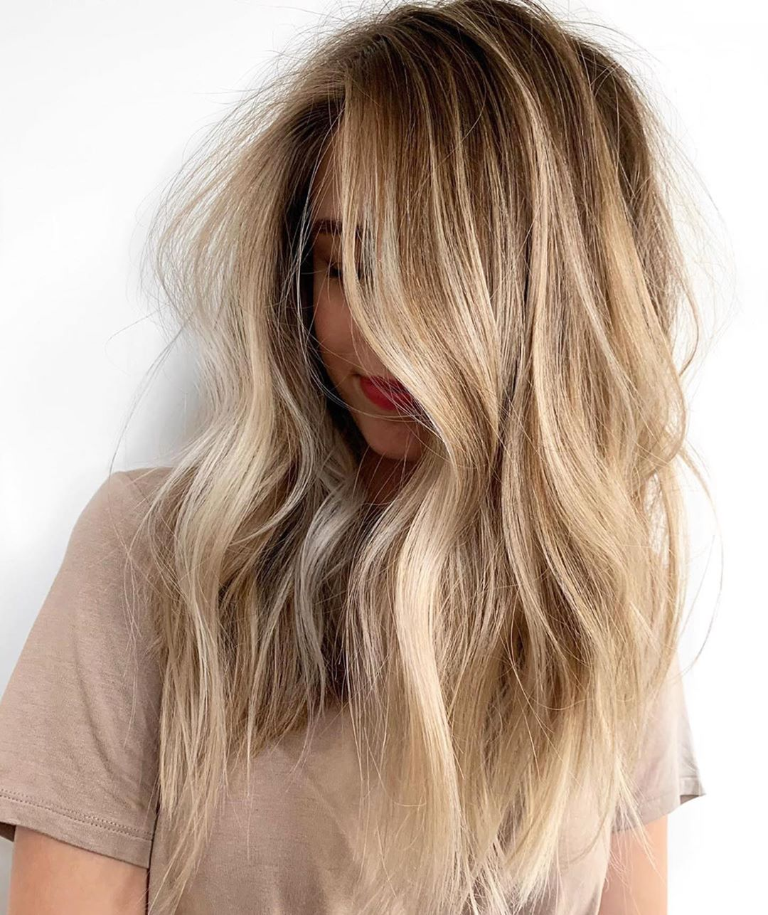 Brown and Blonde Balayage Highlights