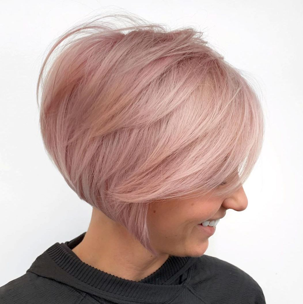 Rose Gold Idea for Blonde Hair