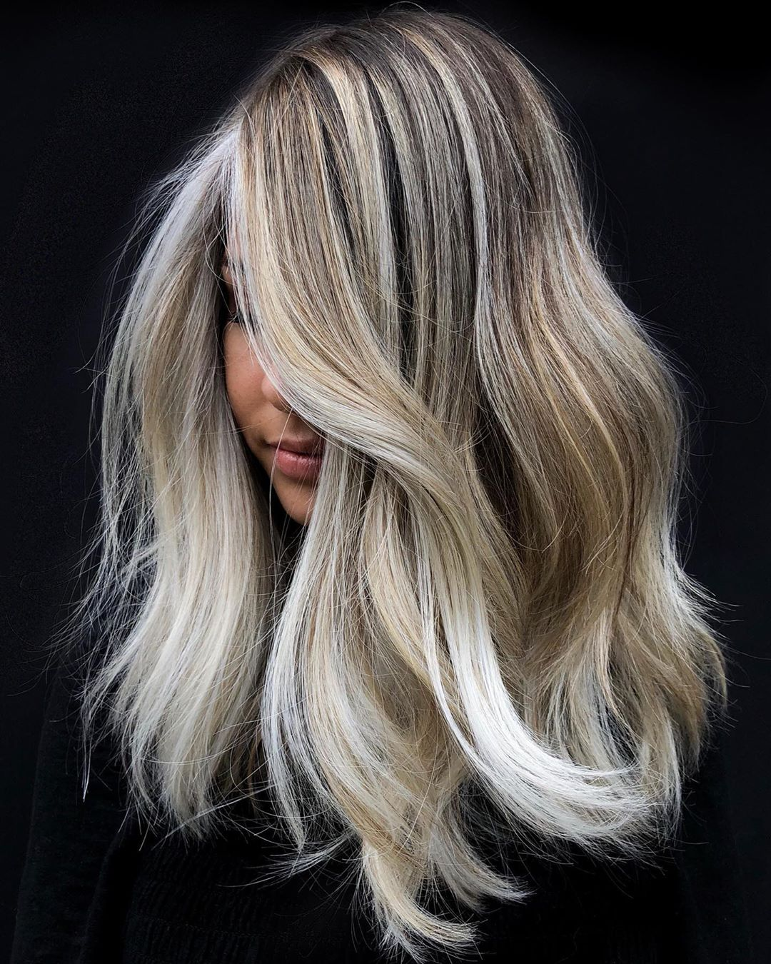 White Highlights for Dirty Blonde Hair