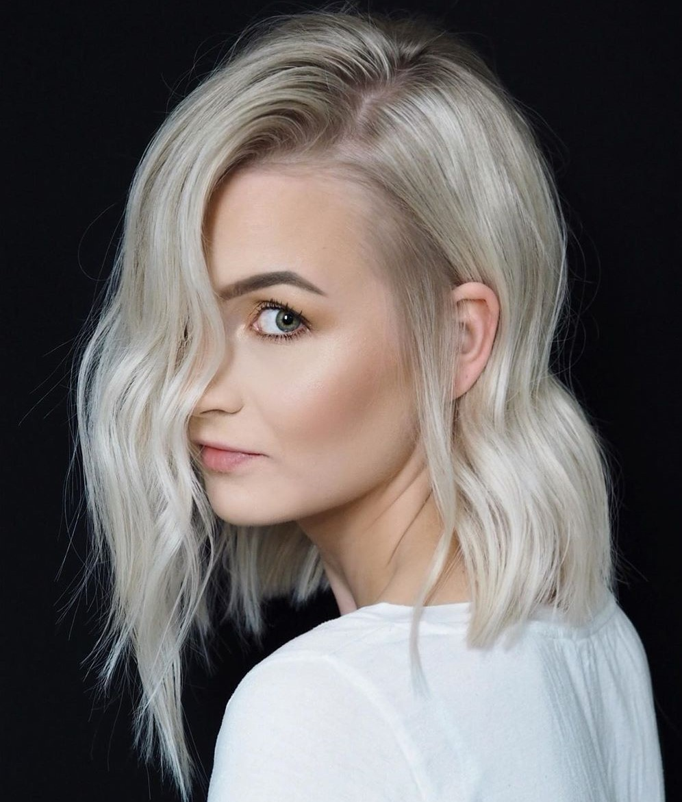 Silver Blonde Hair for Cool Skin Undertones