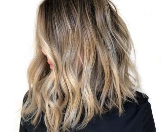 Medium-Length Sandy Blonde Hair