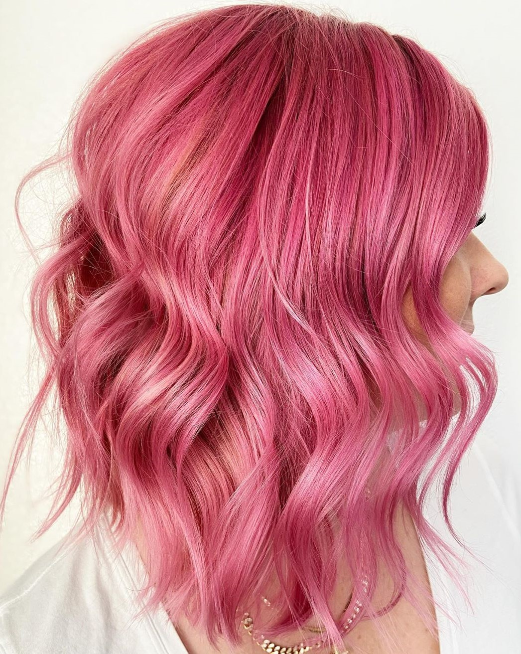 Dimensional Bubblegum Pink Hair Color