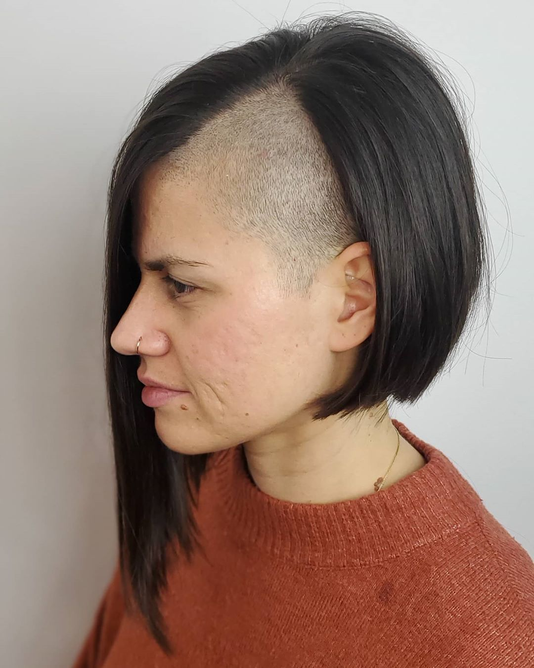 Shaved Bob Haircut for Women