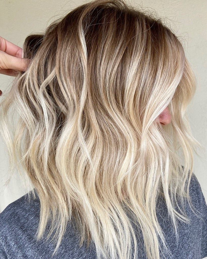 Platinum Hair Color for Bronde Base