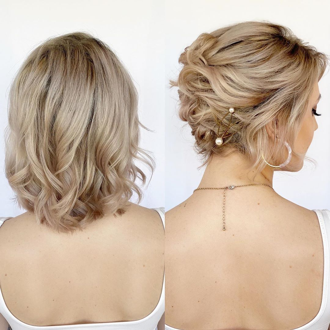 30 Updos For Short Hair To Feel Inspired Confident In 2020 Hair Adviser