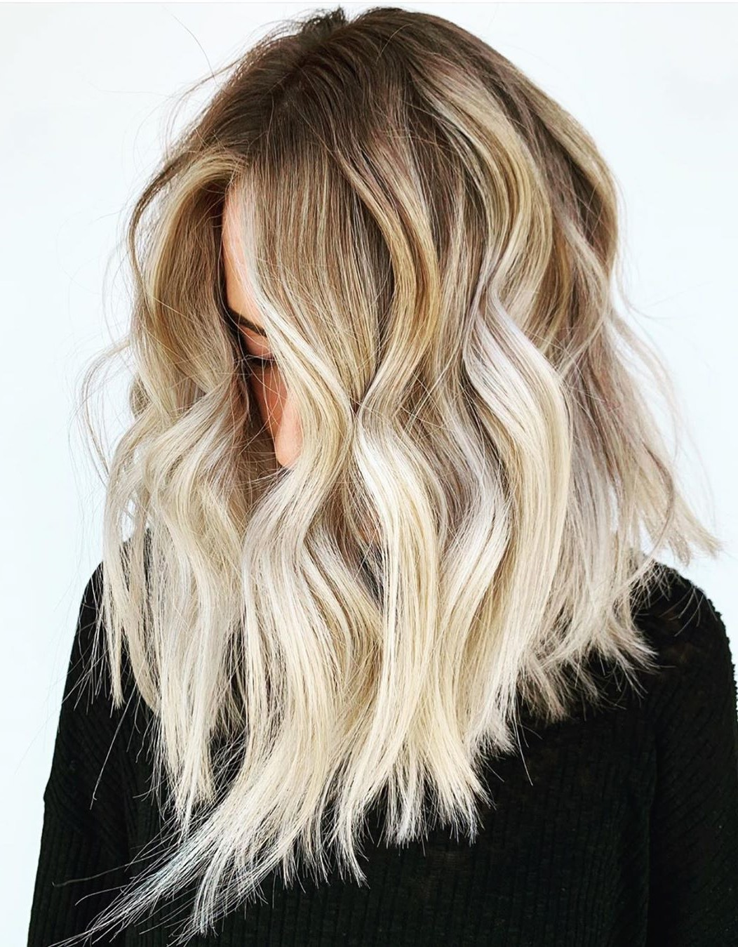 Californian Blonde with Platinum Highlights