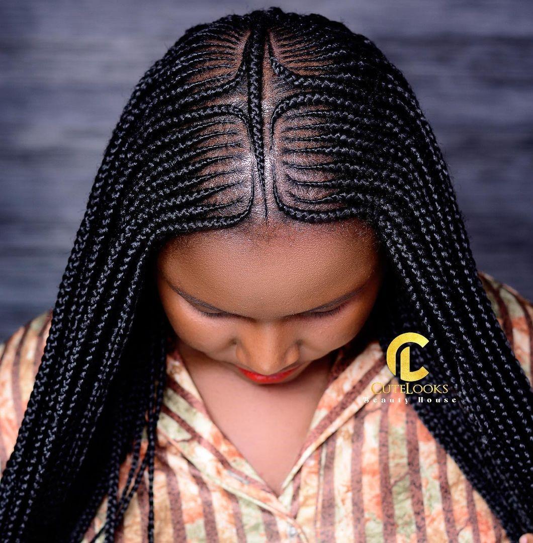 Small Fulani Goddess Braids