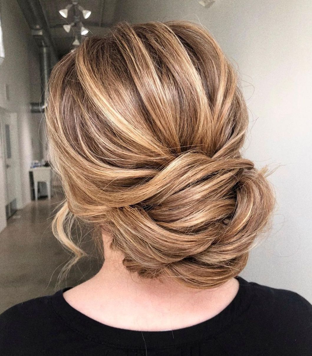 Relaxed Simple Evening Updo