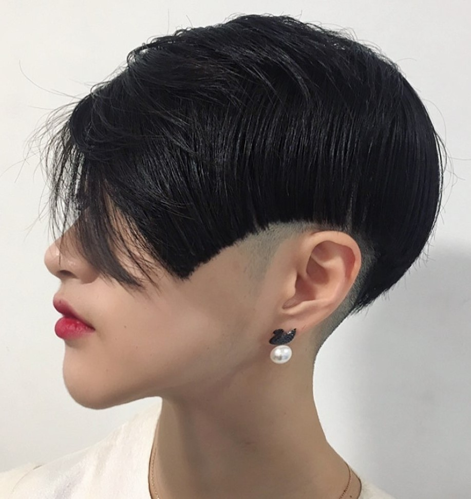 Short Shaved Undercut Hairstyle