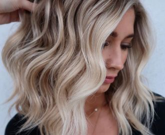 Balayage Blonde and Brown Hair