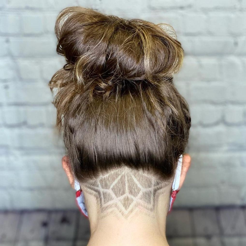 Undercut Hairstyle for Long Hair