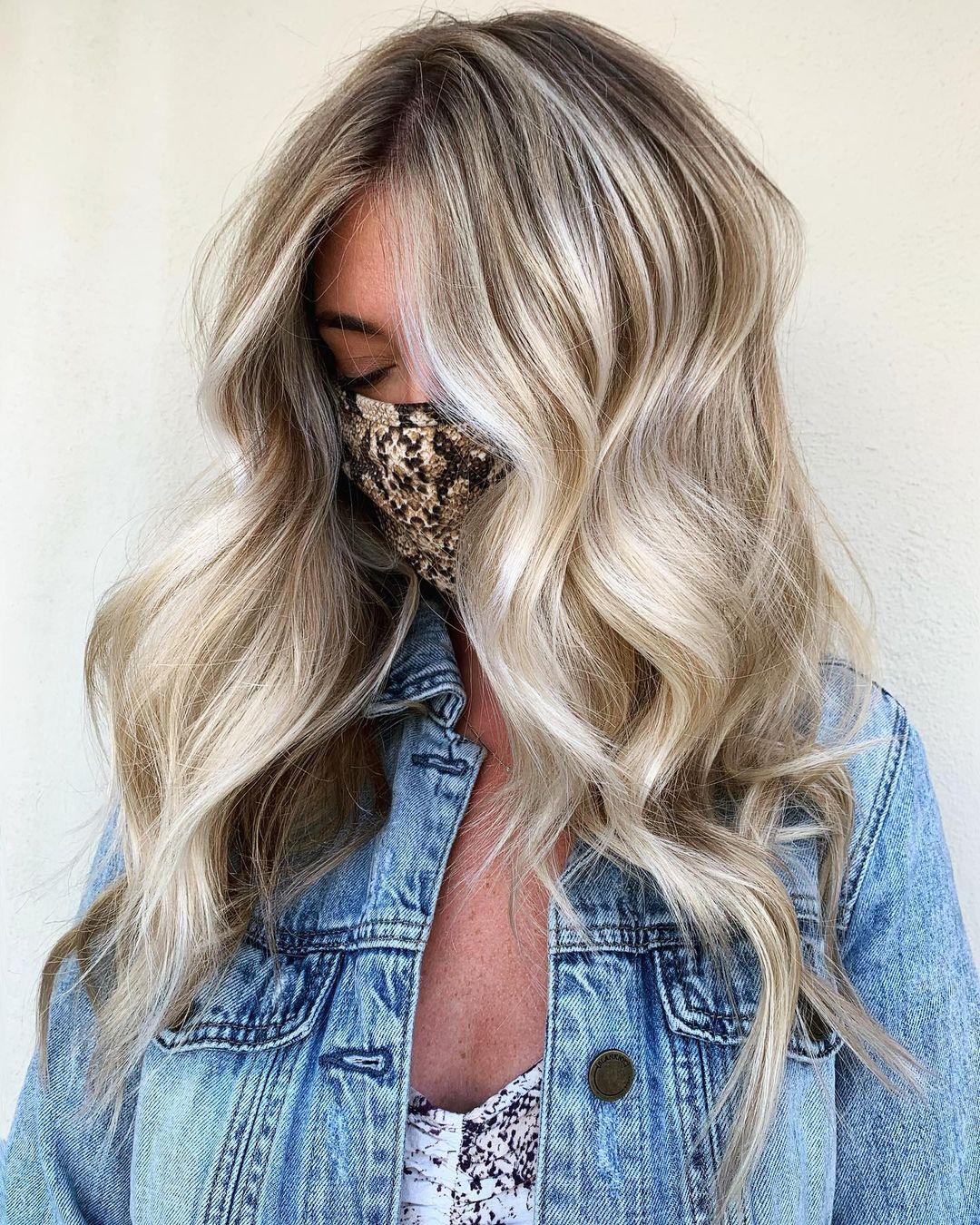 Dirty Blonde Balayage Hair