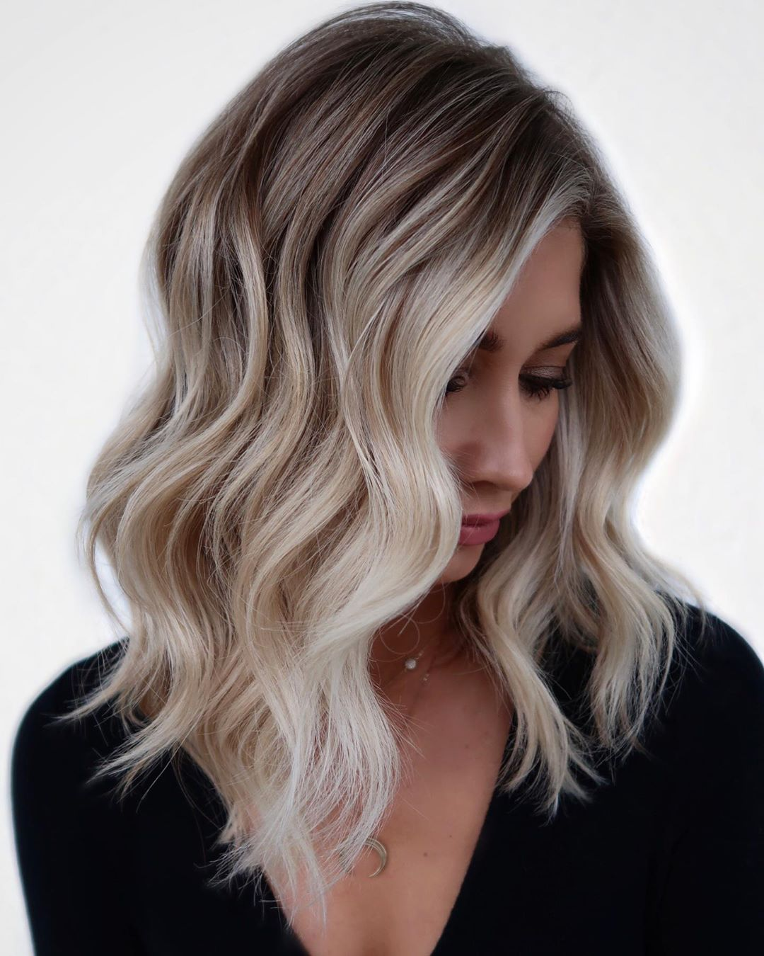 Ash Blonde Hair with Icy Highlights