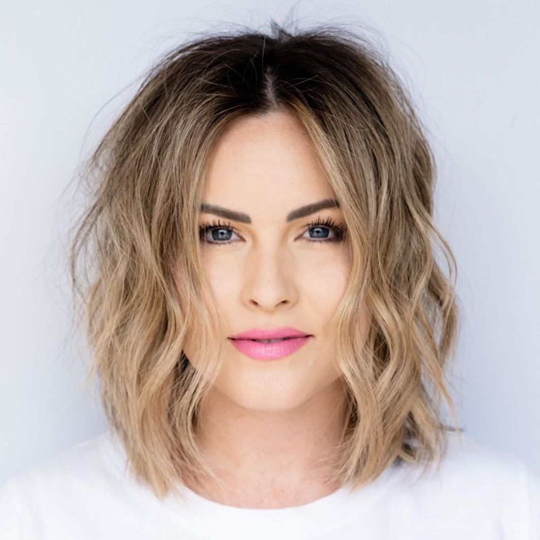 Blonde Balayage with Short Hair