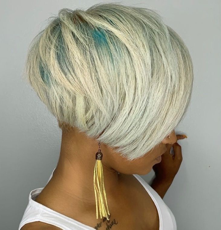Ash Blonde Hair for Dark Skin Women