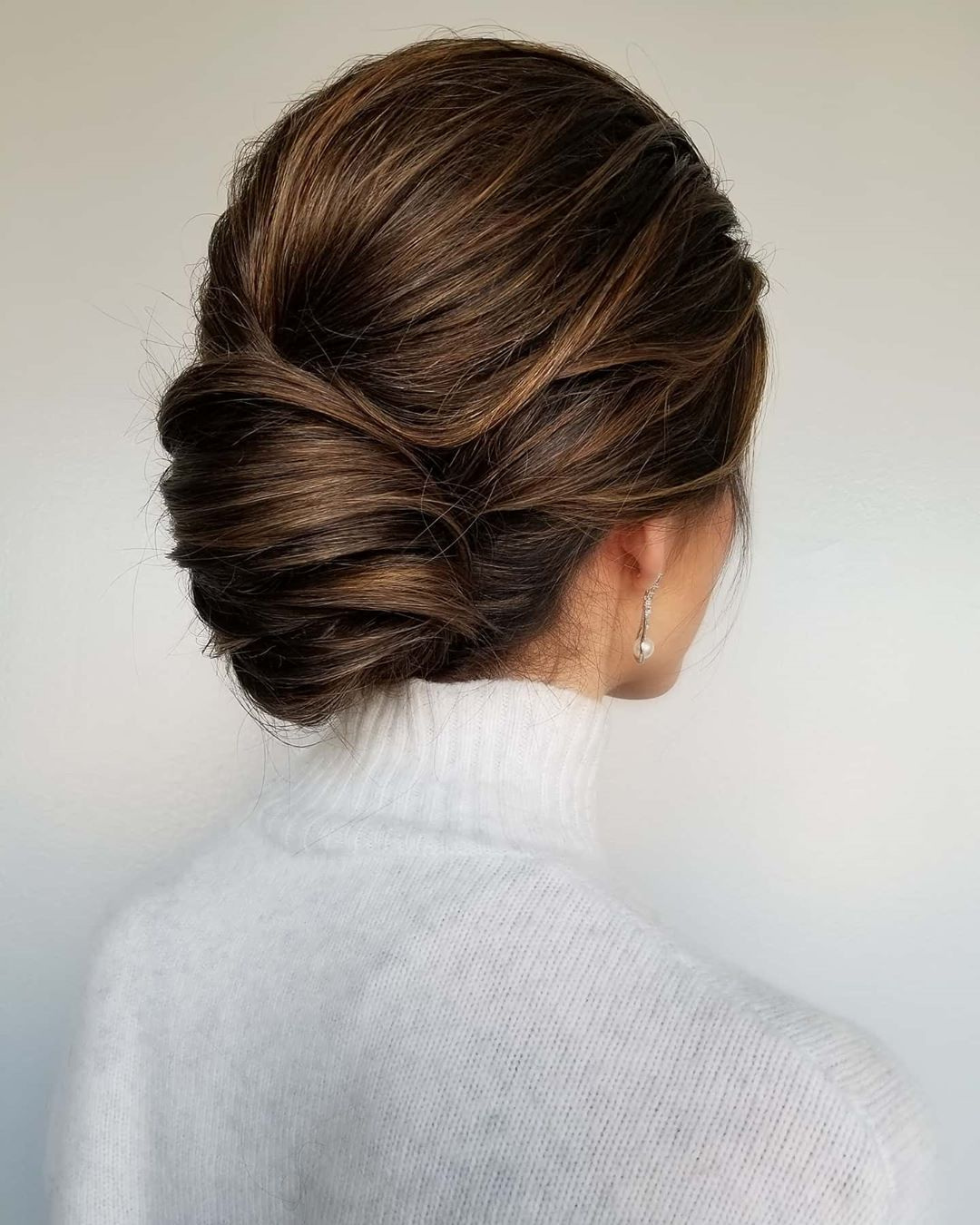 Banana Bun Updo for Fall
