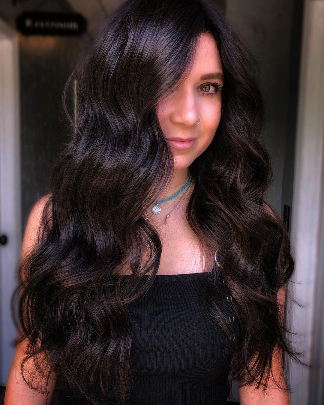 Coffee Espresso Brown Fall Hair Color