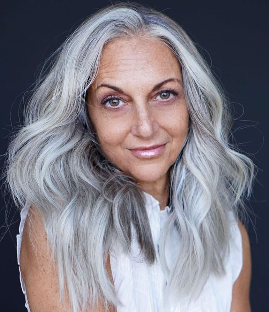 Natural Gray Hair for Fall 2021