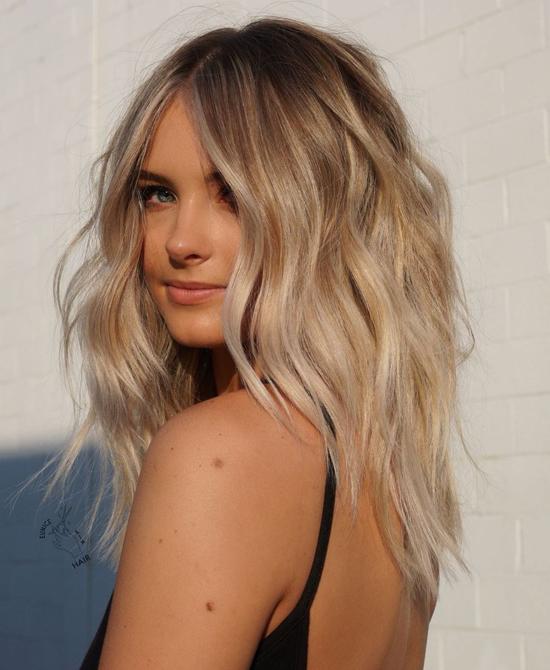 Fall Blonde Hair with Subtle Highlights
