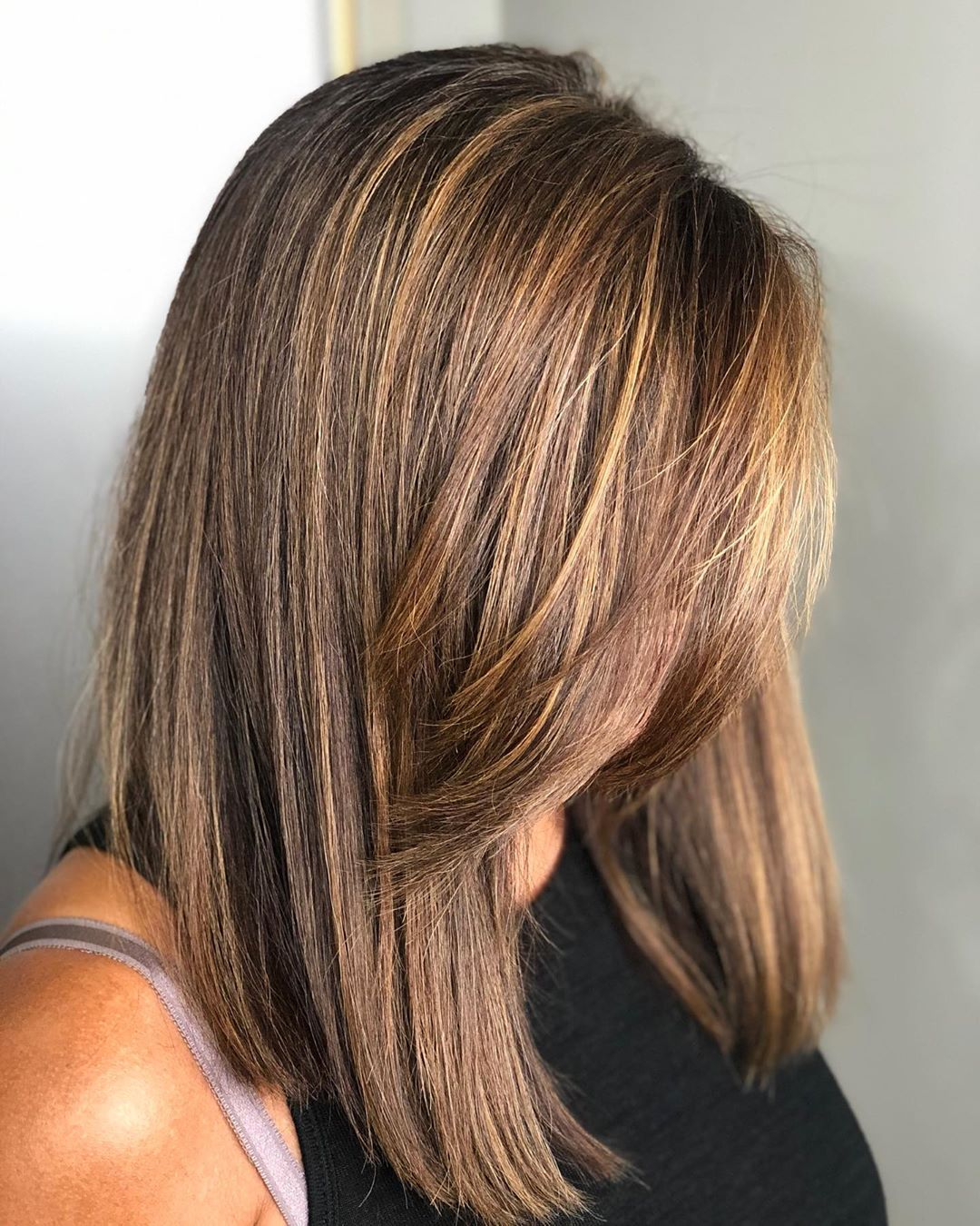 Fall Bronze Balayage for Light Brown Hair