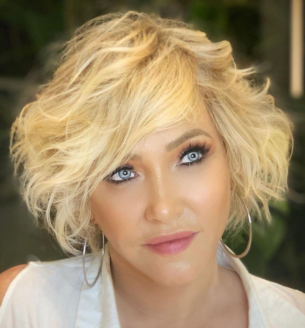 Golden Blonde Short Hairstyle