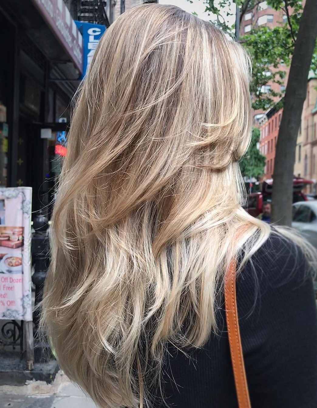 Female Haircut with Long Layers