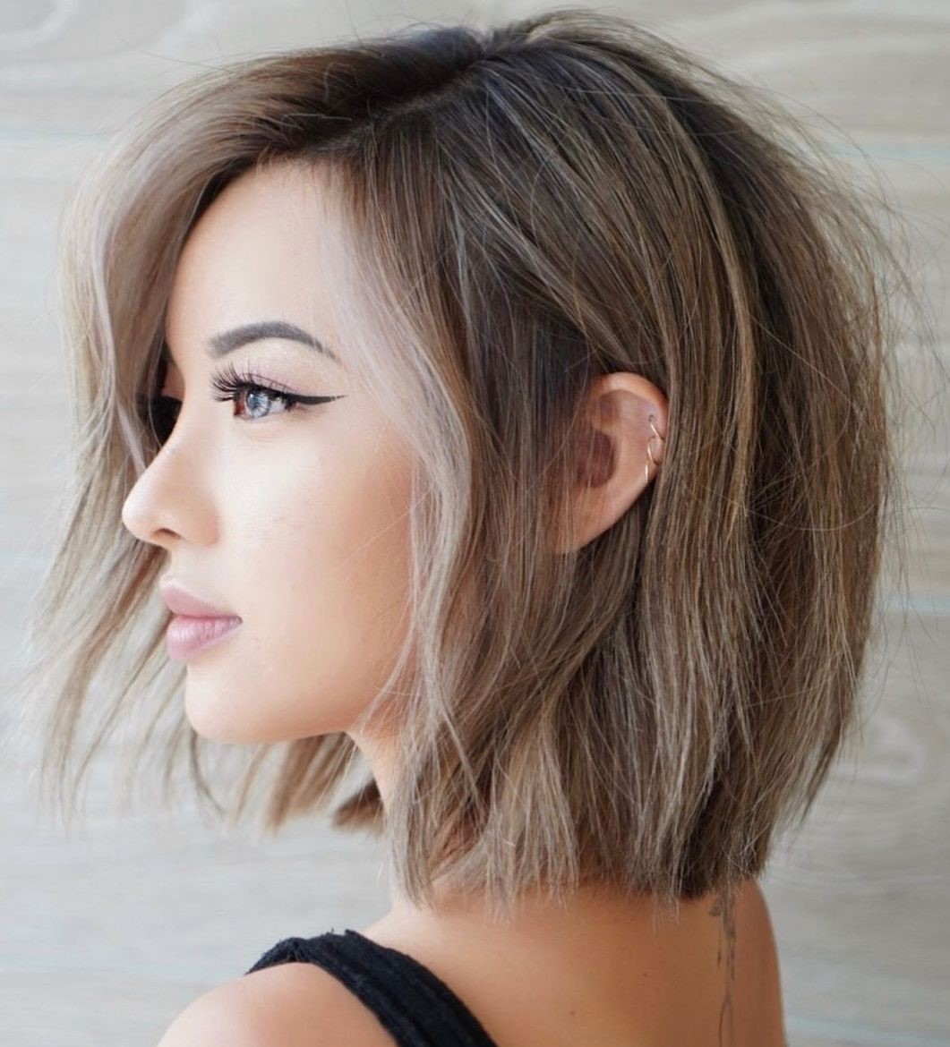 Low-Maintenance Neck-Length Cut for Thin Hair
