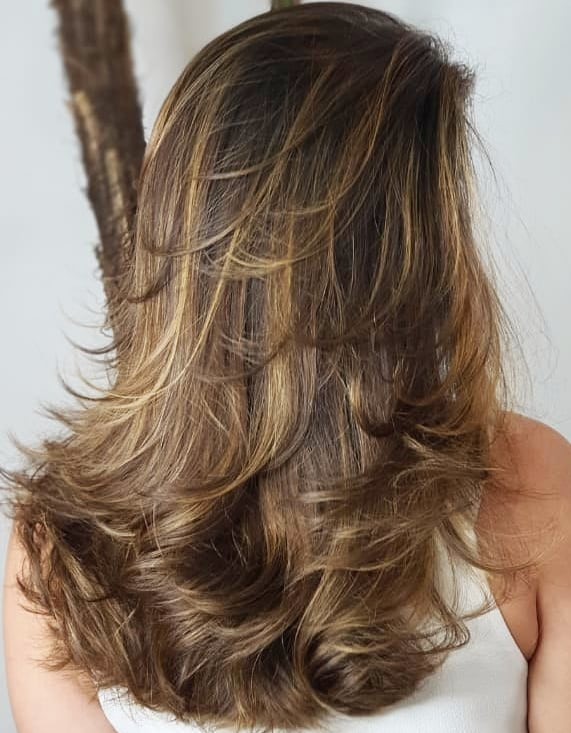 Easy Windswept Layered Hairstyle