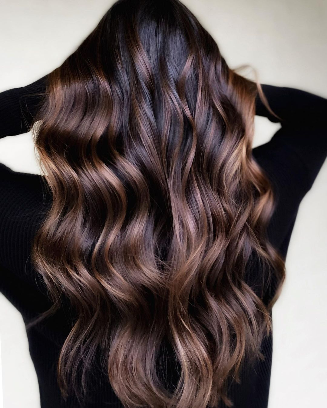 How to Maintain Brown Balayage on Black Hair