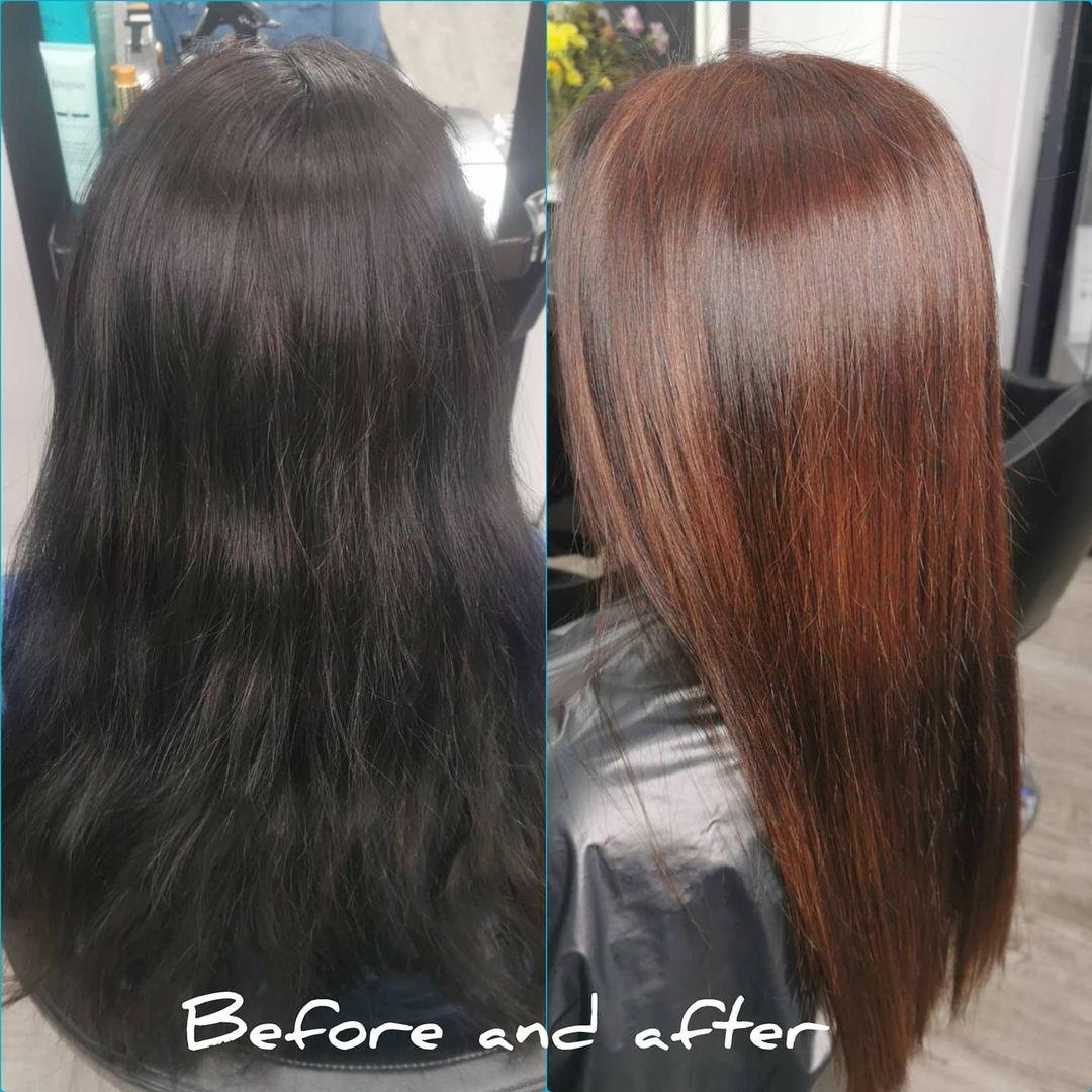 Bleach Bath for Black and Brown Hair
