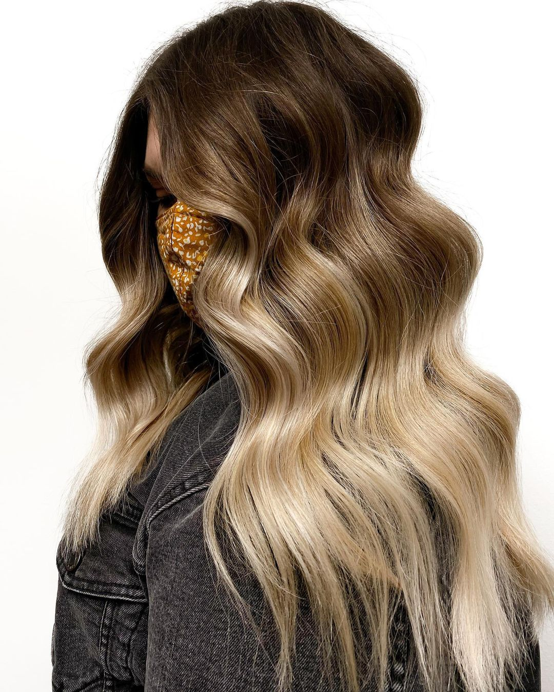 Warm Brown Hair with Honey Blonde Highlights