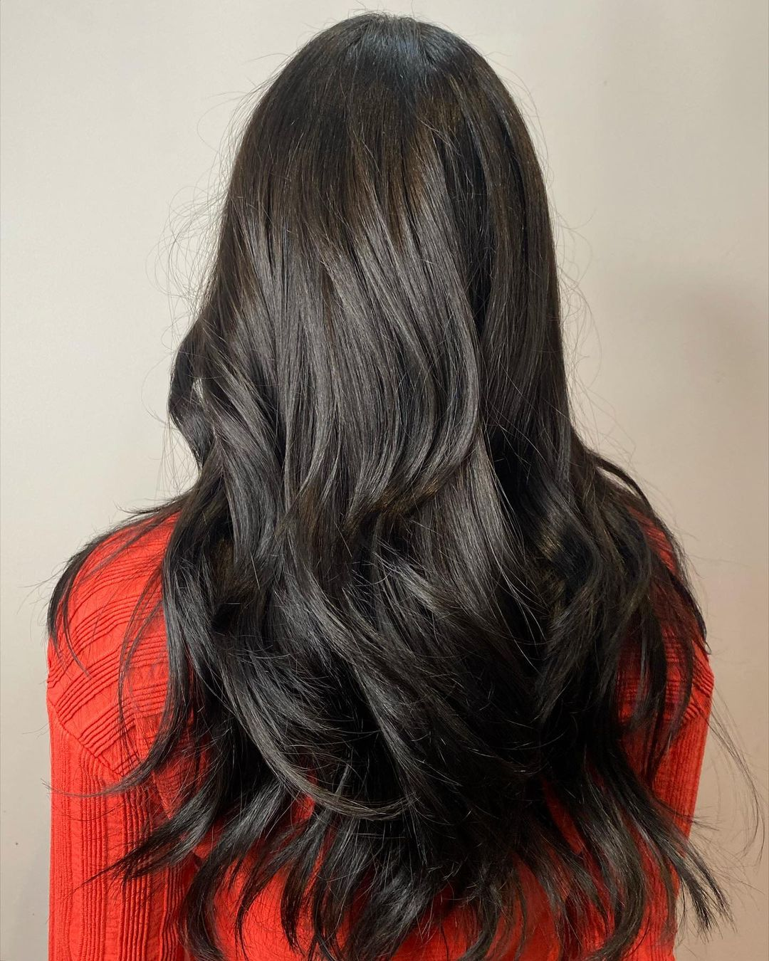 Long Layered Cut for Women with Thick Hair