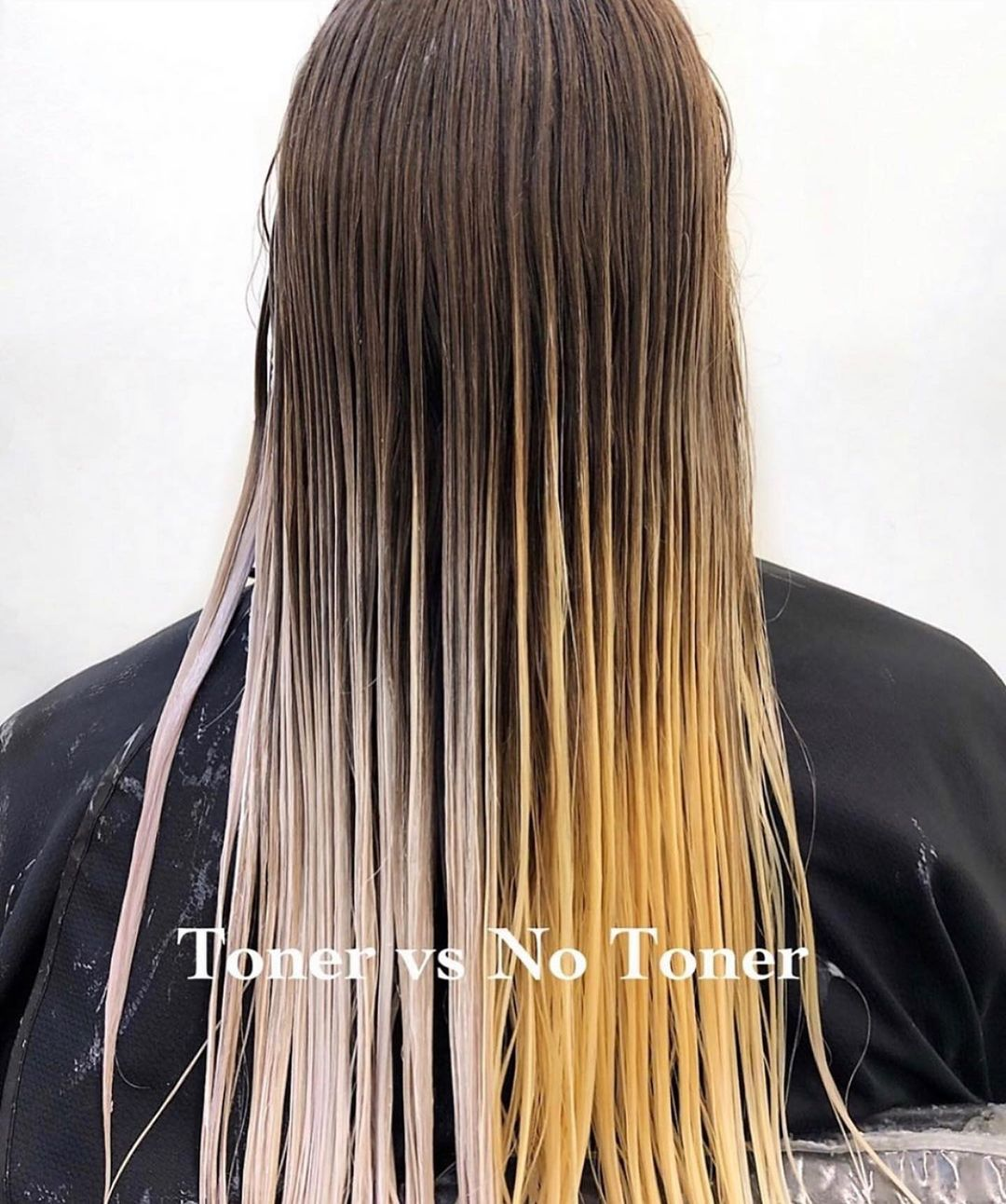 Orange Hair to Blonde Transition with Toning