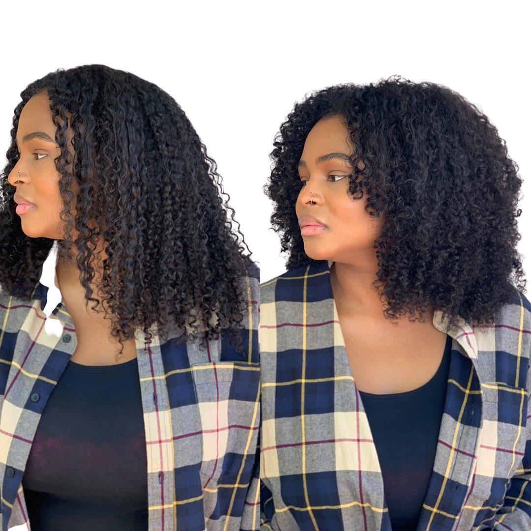 Medium Deva Cut for 4c Curls