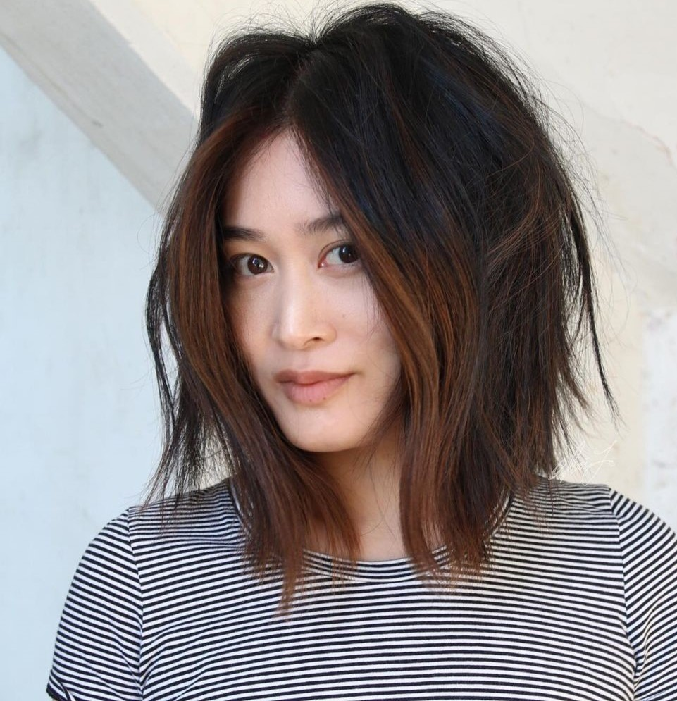 Lob with Disheveled Layers for Narrow Faces