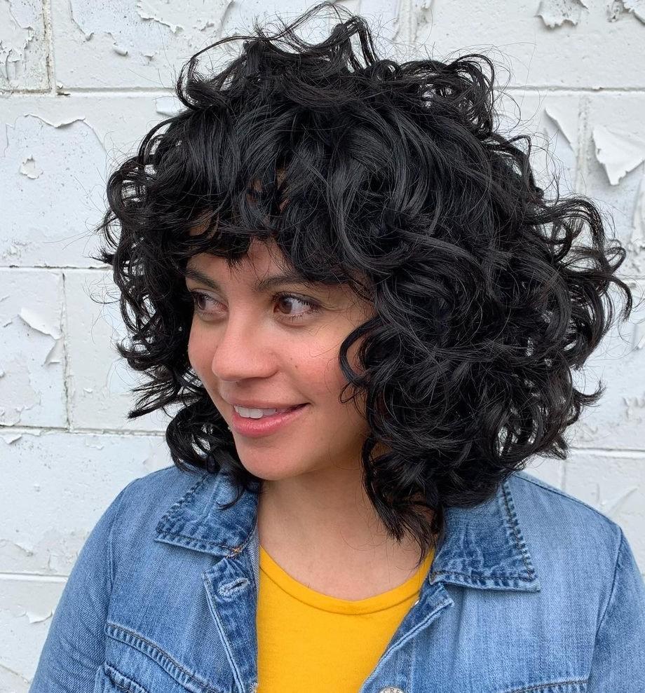 Medium-Length Black Deva Cut