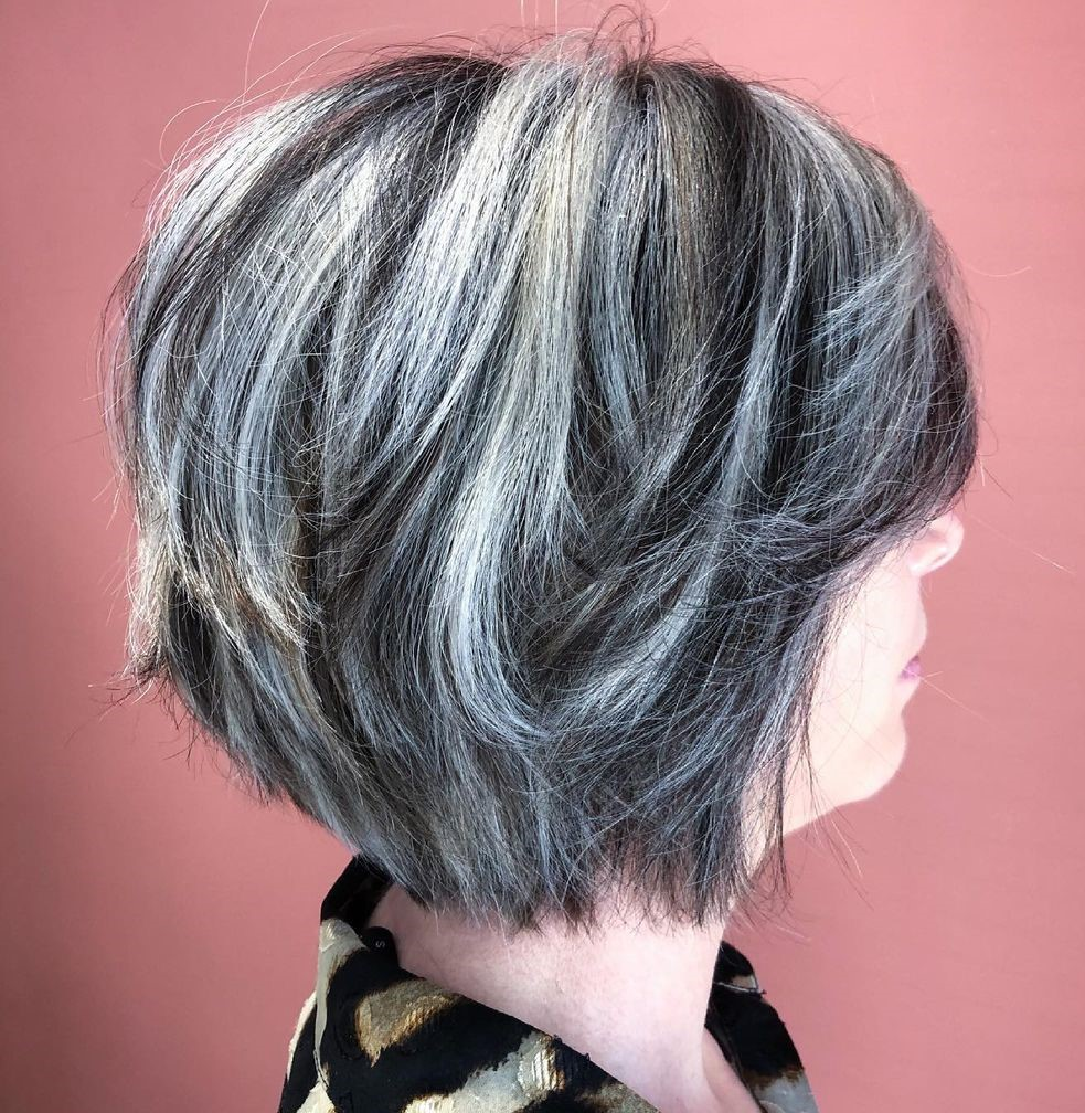 Lovely Bob Hairstyle for Women Over 50