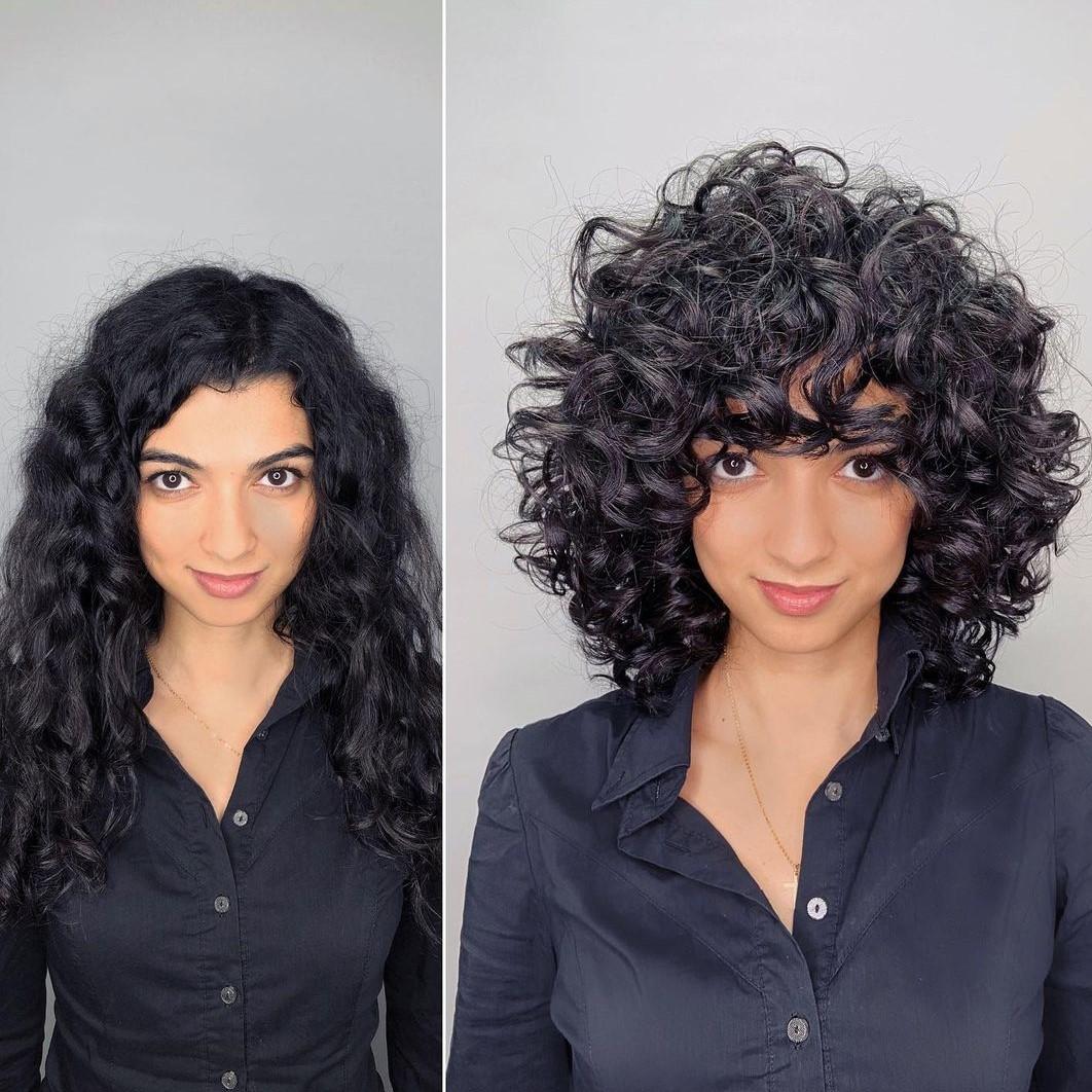 Bouncy Curls Deva Cut Makeover