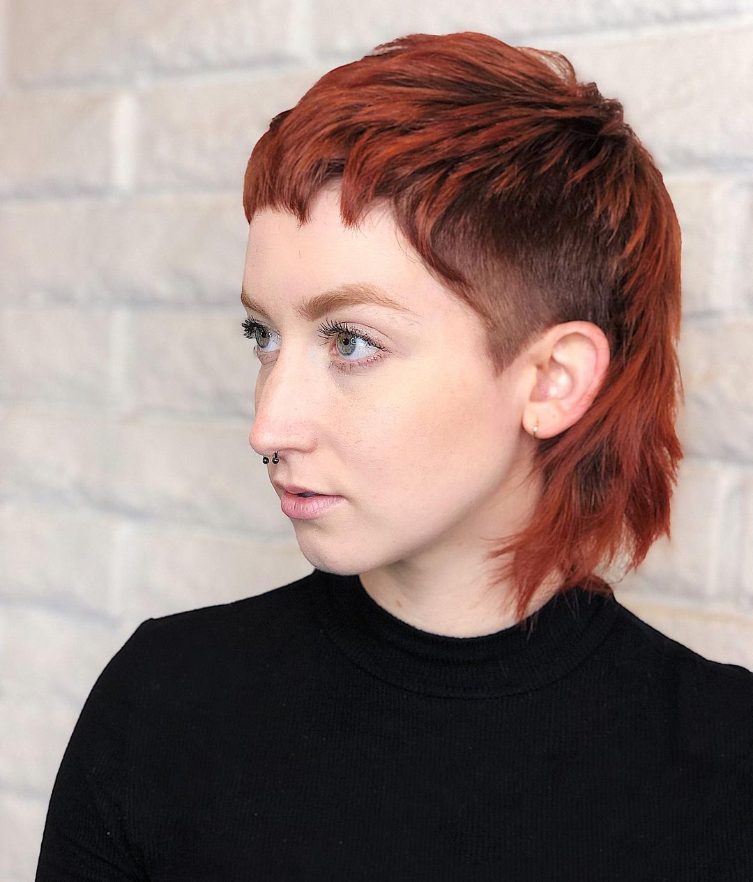 Red Hair Tones for Gray Eyes
