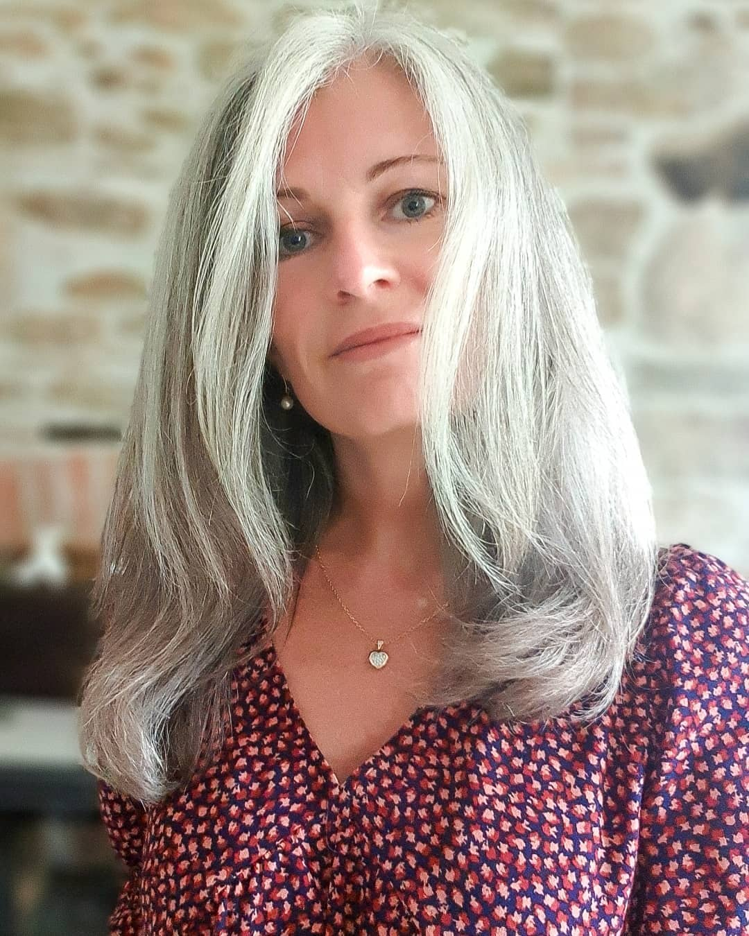 Gray Hair Colors for Gray Eyes