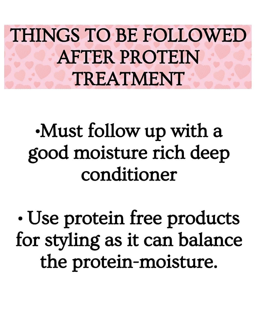 Protein Treatment for Hair Maintenance - What to Do After Protein Hair Treatment