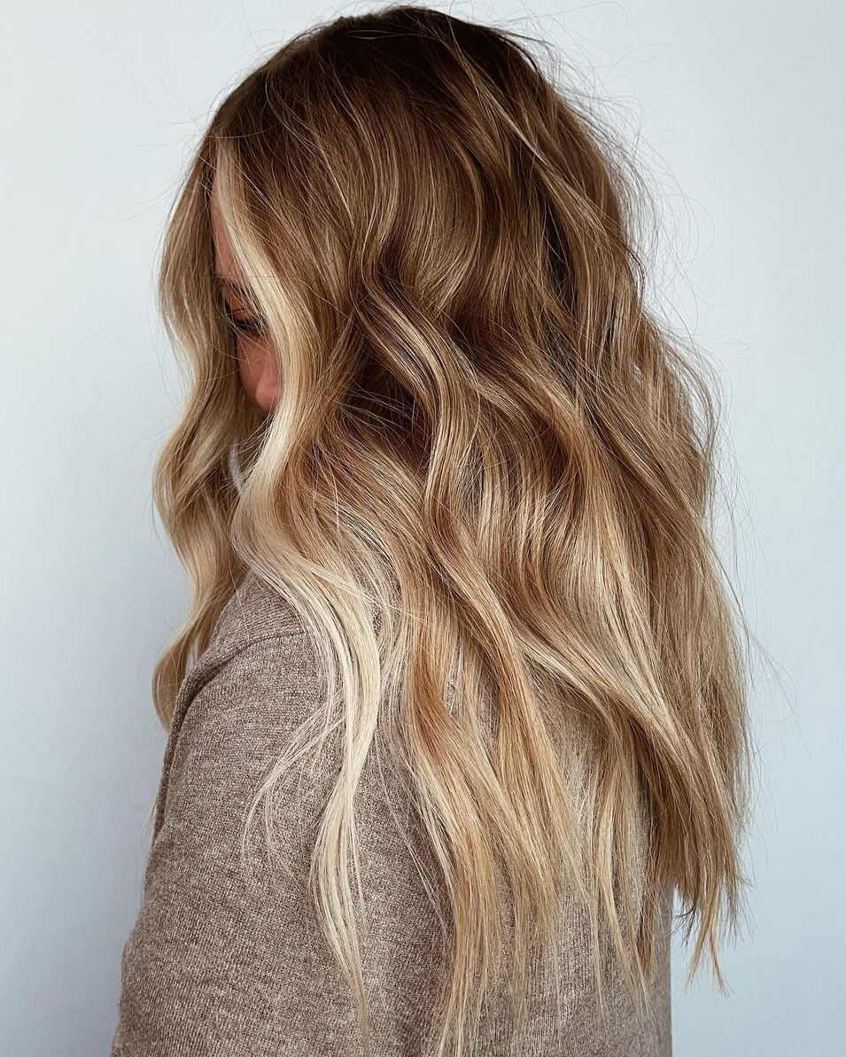 Hair Color Idea with Partial Highlights