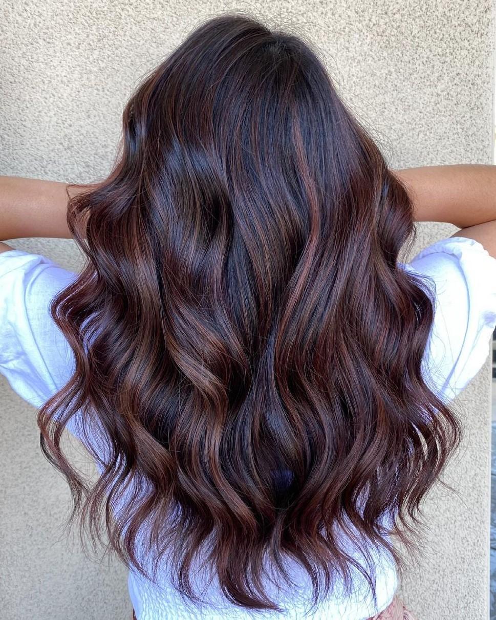 Trendy Brunette Hair Color
