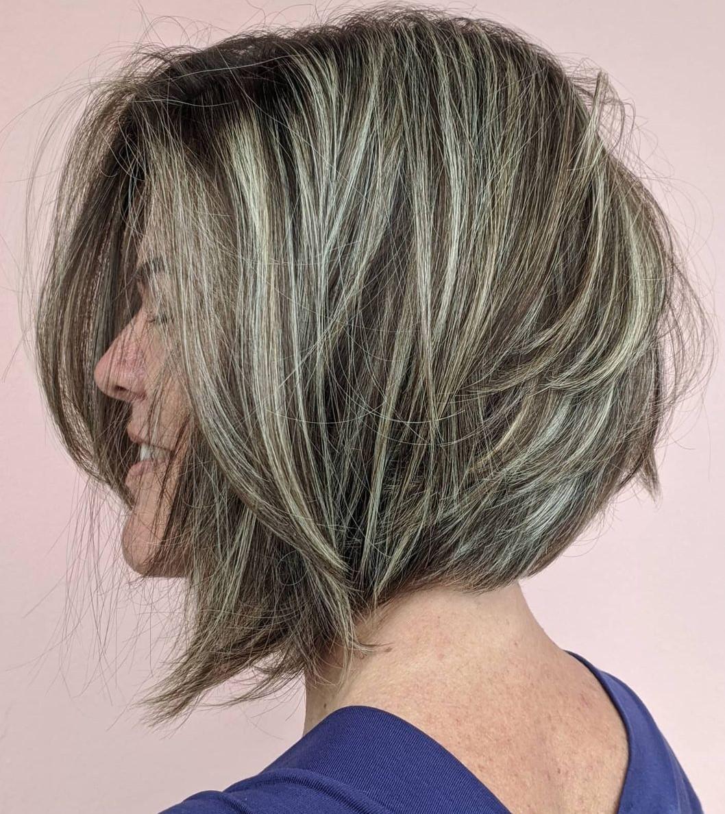 Foil Blonde Highlights for Brown Hair